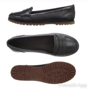 Timberlands- Penny Loafer Size 8 Black NEW!